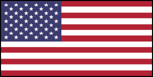 Nord America flag