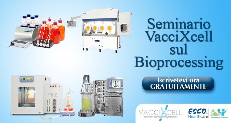 Seminario sul Bioprocessing del VacciXcell